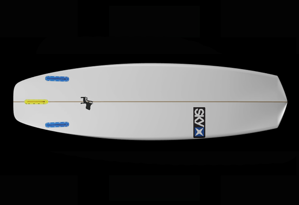 mongrel surfboard bottom
